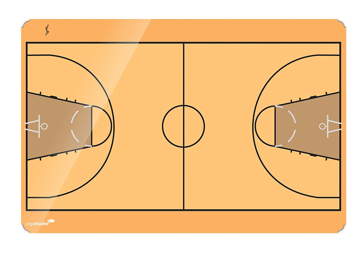 Legamaster ACCENTS, Basketball 60 x 90 cm Magnetico lavagna 7-103943