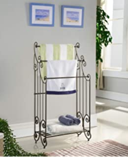Amazon.com: Frenchi Home Furnishing Blanket Rack, 35.5