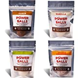 Power Balls Paleo Angel Healthy Paleo Approved Gluten Free AIP Protein Snack Bars (AIP Variety 4-Pack)