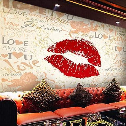 amazon com hwhz custom 3d mural bar ktv tv backdrop wallpaperimage unavailable