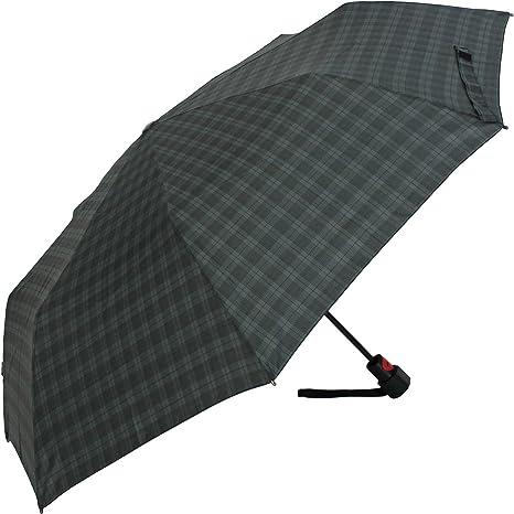 Knirps T1 - Paraguas automático, muy resistente negro Gents Prints ...