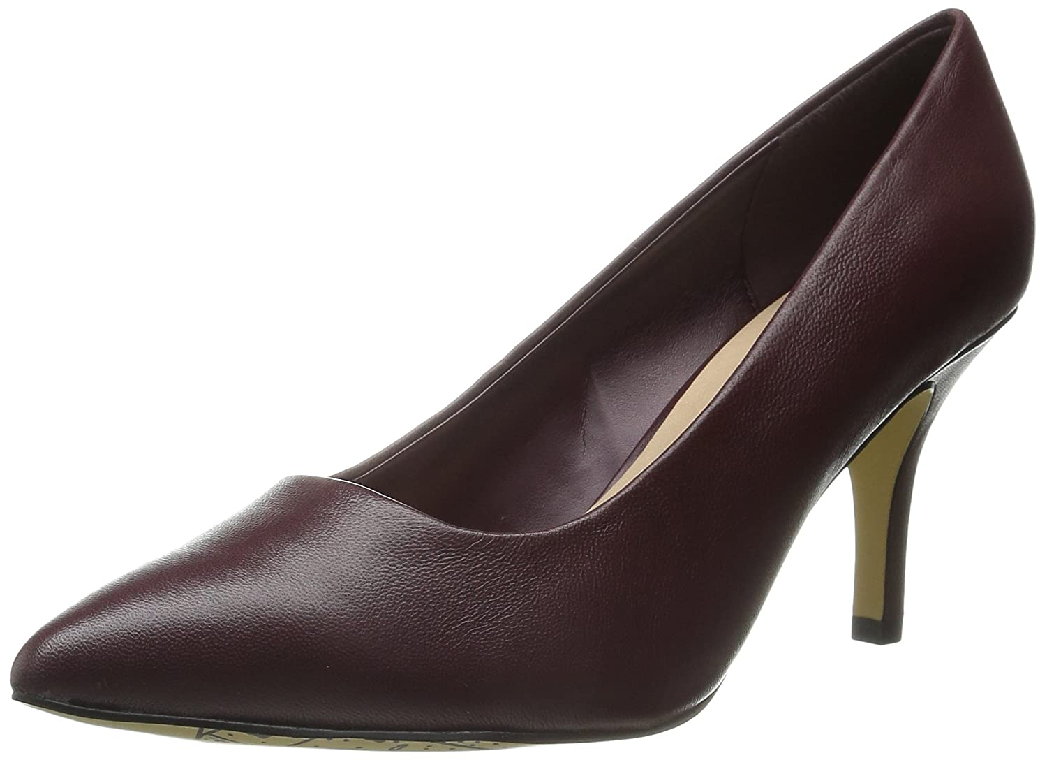 Bella Vita Women's Define Dress Pump B00ZICIXQS 8.5 XW US|Burgundy Leather
