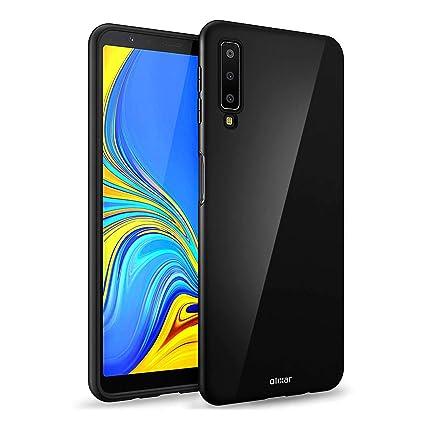 new product 86681 7b6b9 Amazon.com: Olixar FlexiShield Samsung Galaxy A7 2018 Gel Case ...