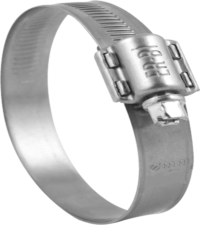 Lot de 10 colliers de serrage v2A w4 acier inox diam/ètre :  100 120 mm il /® /à vis-cuir largeur 13 mm dIN 3017 qualit/é industrielle