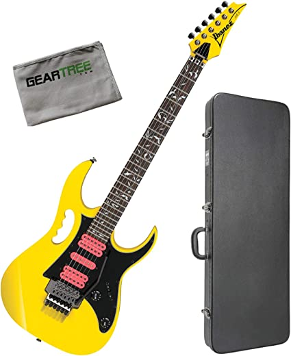 Ibanez JEMJRSPYE Steve Vai Signature - Guitarra eléctrica (con ...