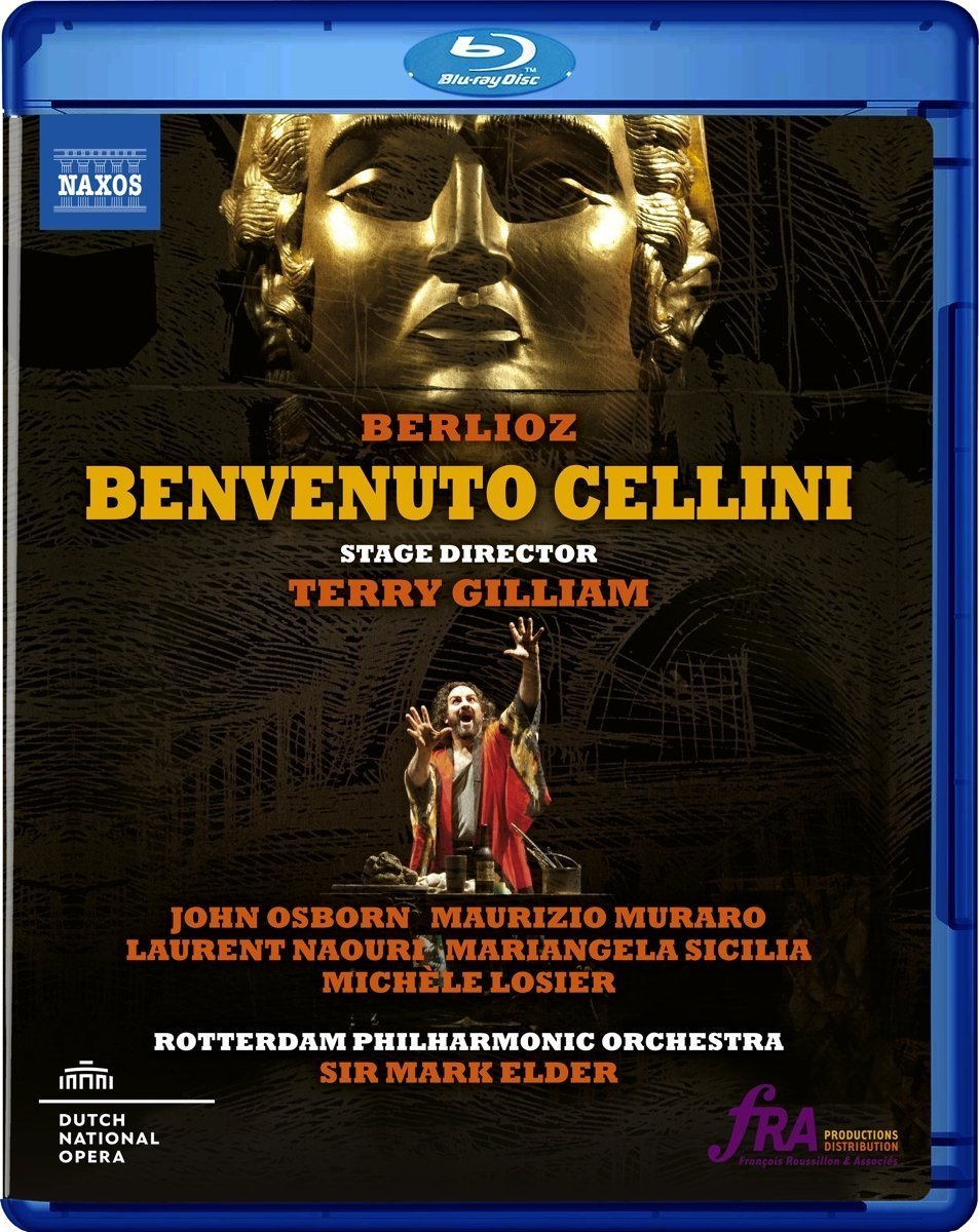 Blu-ray : JOHN OSBORN / MAURIZIO MURARO / LAURENT NAOURI / MARIANGELA SICILIA / MICHELE LOSIER / ORLIN ANASTASSOV / CHORUS OF THE NATIONAL OPERA / CHING-LIEN WU / ROTTERDAM PHILHARMONIC O - Benvenuto Cellini (Blu-ray)