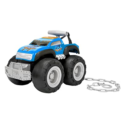 Max Tow Truck Turbo Speed Truck, Blue: Toys & Games