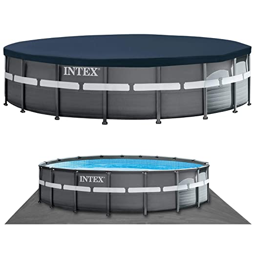 INTEX Piscina Desmontable Ultra XTR Frame Pool 549x132 cm 26330: Amazon.es: Juguetes y juegos