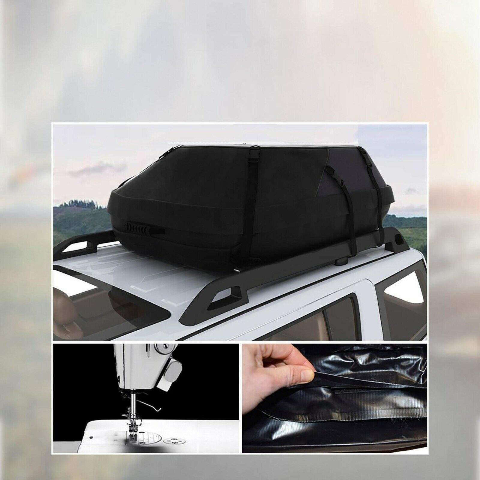 . gage Carrier Luggage Travel el Storage Bag. Luggage Ca Car Waterproof Rooftop Car W Storage Bag. ftop Cargo Cargo Carrier aterpr Luggage Carrier