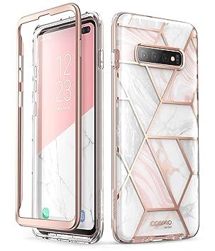 i-Blason Funda Galaxy S10 Plus [Serie Cosmo] Carcasa Case Protector Compatible con Samsung Galaxy S10 Plus 2019 (Mármol)