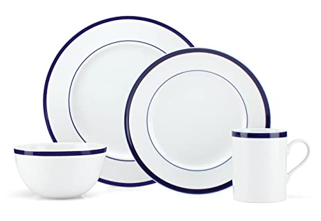 Gorham Bistro Dinner Set - Blue  sc 1 st  Amazon.com & Amazon.com | Gorham Bistro Dinner Set - Blue: Dinnerware Sets