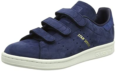 Adidas Stan Smith CF W, Chaussures de Fitness Femme, Bleu Tinley/Indnob 000