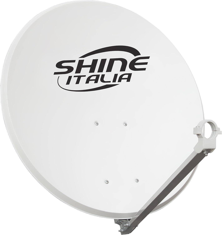 SHINE, SHPA60/FE-Antena parabólica 60 cm, hierro Disco, Disco ...