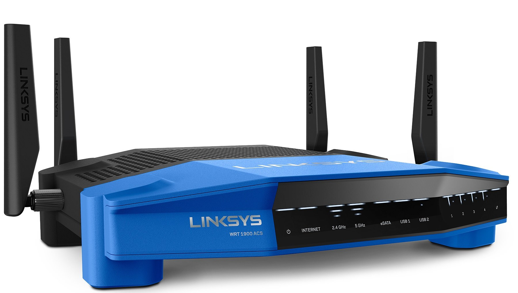 Linksys AC1900 Dual Band Open Source WiFi Wireless Router (WRT1900ACS)