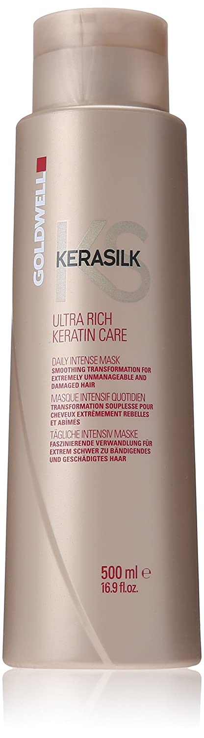 Goldwell KS Ultra Rich Keratin Care Daily Intense Mask for Unisex, 16.89 Ounce