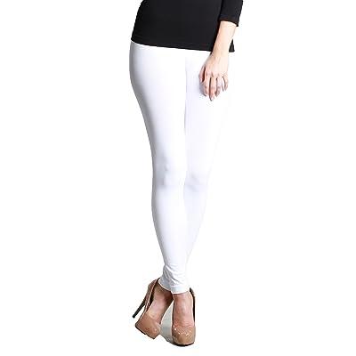 A.S Nikibiki Womens Basic Super Thick Nylon Jersey Leggings (One Size)