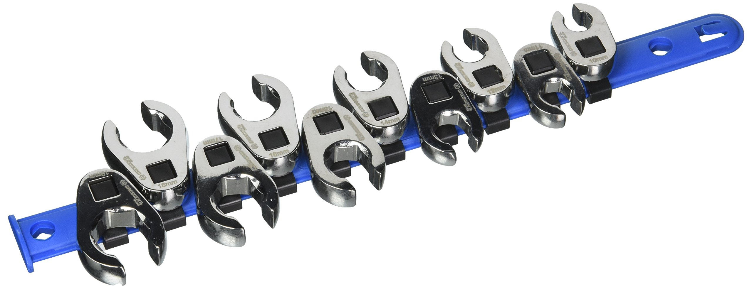 Crescent 10 Pc. 3/8'' Drive Flare Nut Metric Wrench Set - CCFWS1N by Crescent