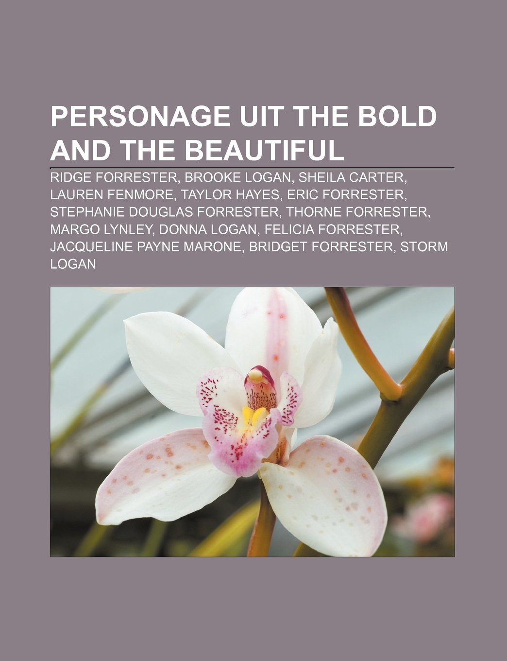 Personage uit The Bold and the Beautiful: Ridge Forrester ...
