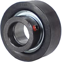 Inch 1 Bore 2-17//32 OD 1-3//8 Overall Width Setscrew Lock Fixed Type Rubber Grommet Housing Contact Seal Browning RUBRS-116 Cartridge Bearing