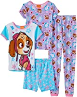 Nickelodeon Paw Patrol Girls 4 piece Pajamas Set