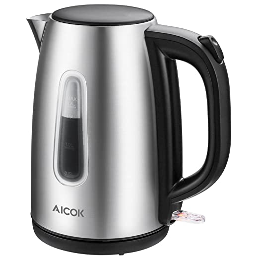 Review Electric Kettle 1.7L Stainless