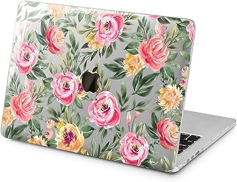Pink Floral Flower Design Hard Cover Case For Macbook Pro Retina Air 11 12 13 15