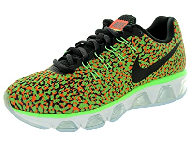 reputable site 1381b 8a847 Nike Women s Air Max Tailwind 8 Vltg Green Blck Hypr Orng Wht Running