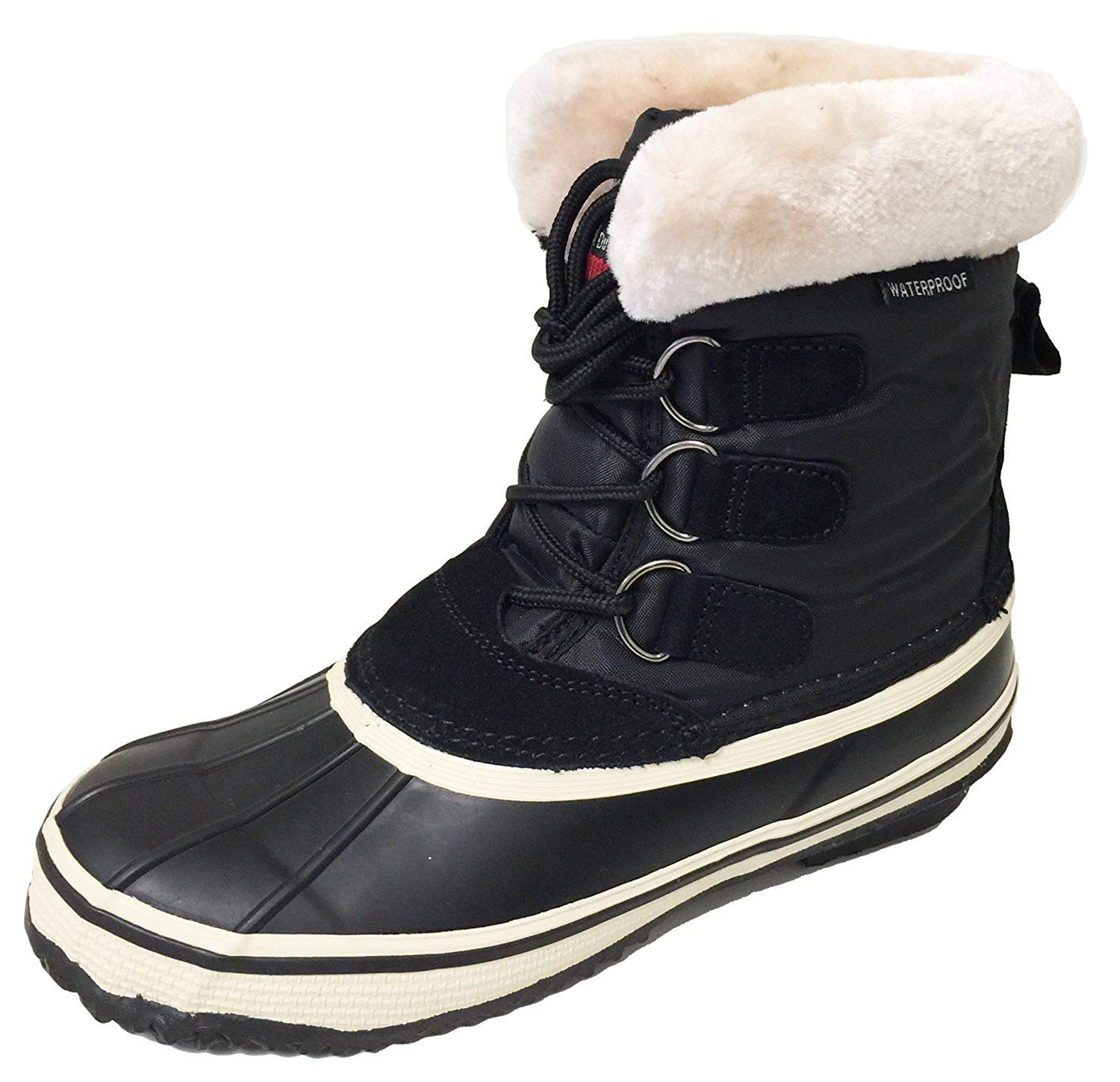 6bab607e4142a G-S22B Women's Winter Boots Cold Weather Shearling Fashion Insulated ...