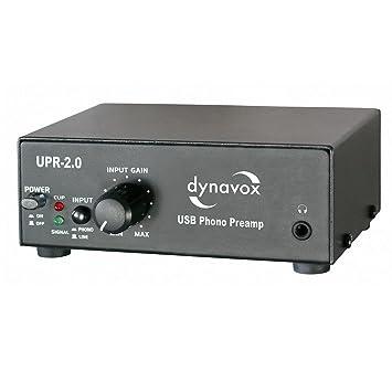 Dynavox UPR-2.0 USB - Preamplificador para tocadiscos con puerto ...