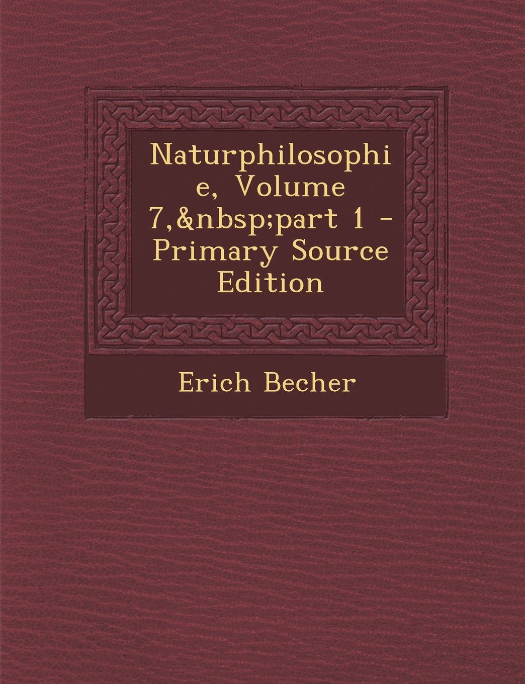 Download Naturphilosophie, Volume 7, part 1 - Primary Source Edition (German Edition) PDF