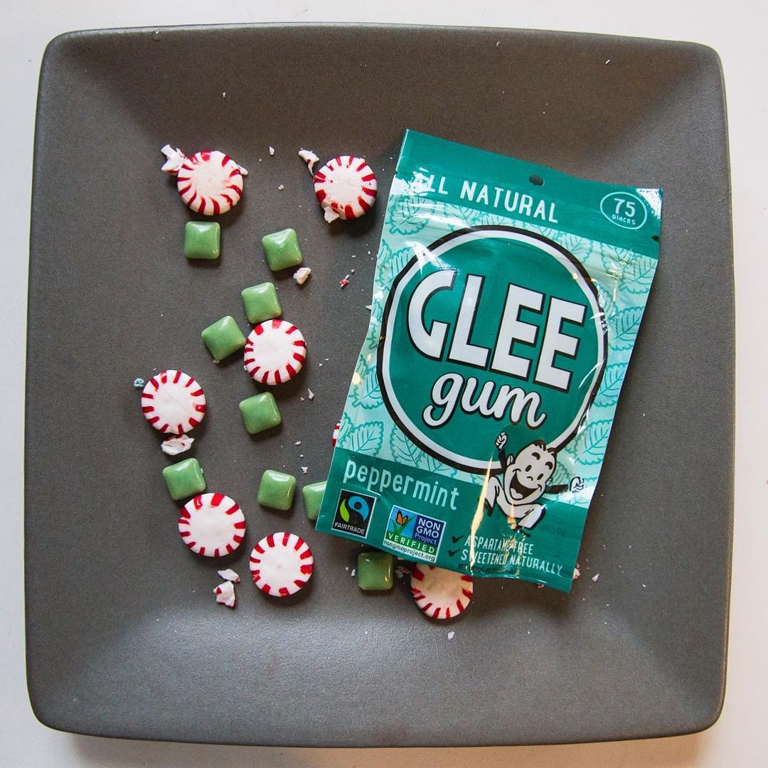 Classic Glee Gum Pouch Peppermint 75 Ct (Pack of 6) by Glee Gum (Image #3)