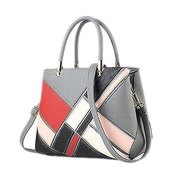 5c6456804c Femmes Sacs à main Designer sacs sac à main sac bandoulière pour les femmes  Mesdames Patchwork