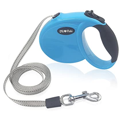 Retractable Dog Leash, 8ft Dog Walking Leash with Anti-Slip Handle for Small Dogs