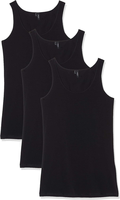 Vero Moda Camiseta sin Mangas (Pack de 3) para Mujer