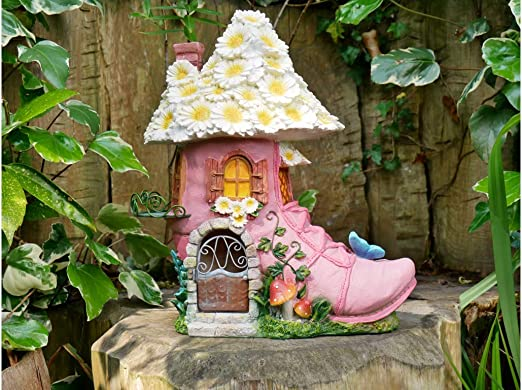 Home Casa de Hadas en una Rosa para decoración de jardín: Amazon.es: Jardín