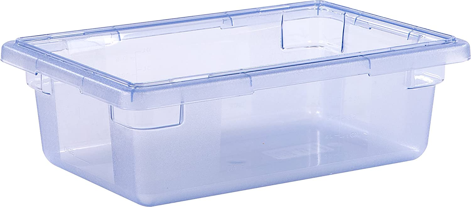 "StorPlus 10611C14 3.5 Gallon Color-Coded Box 18"" x 12"" x 6"" - Blue( Lid Sold Separately)"