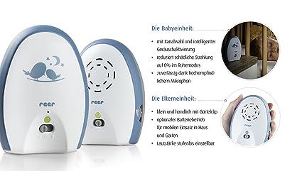 mit analoger 2-Kanaltechnik Reer 50010 Neo 200 Babyphone Babyfon