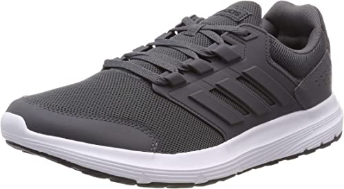 adidas Galaxy 4 Mens Adult Running Fitness Trainer Shoe Grey/White