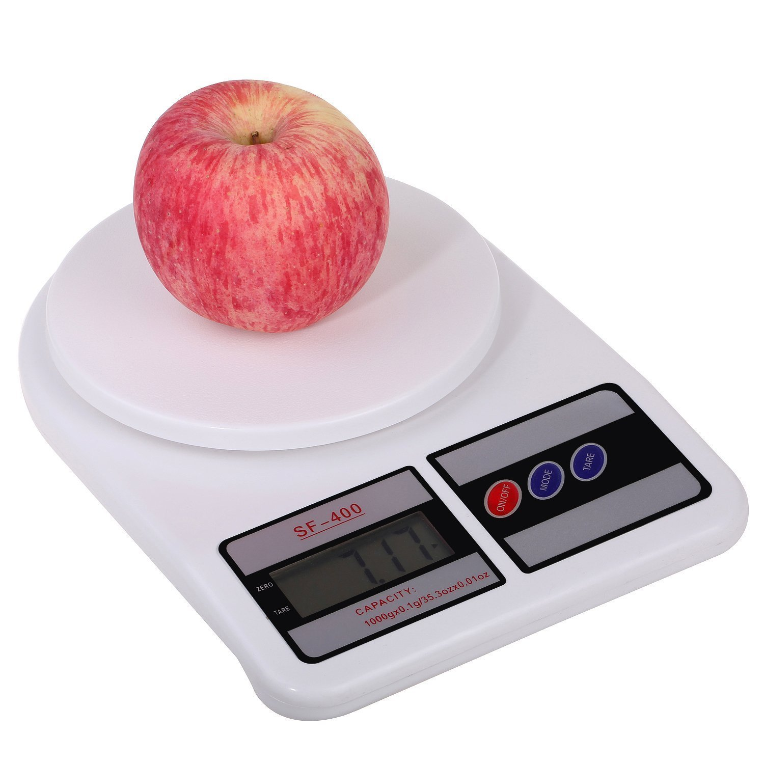 Captivating Buy Digital Kitchen Scale Electronic Digital Kitchen Weighing Scale 10 Kgs  Weight Measure Spices Vegetable Liquids  SF 400, Ivory Online At Low Prices  In ...