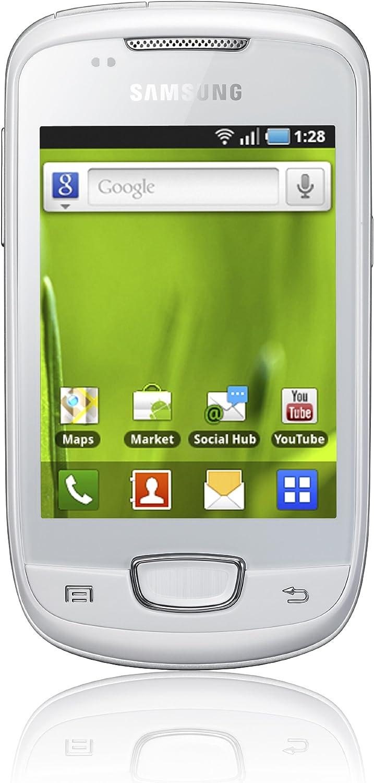 Samsung S5570 Galaxy Mini - Smartphone libre Android (cámara 3 MP ...