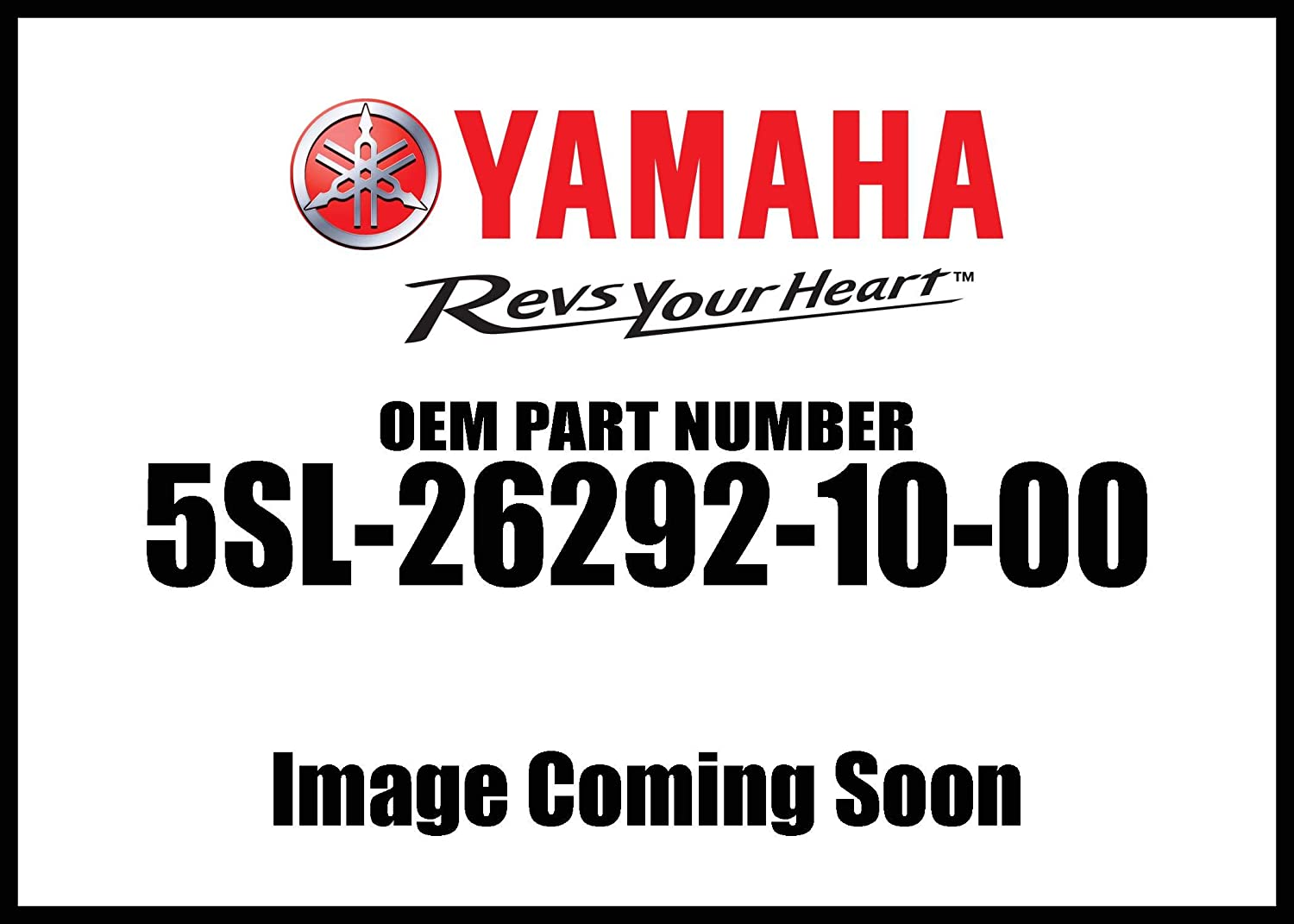 Yamaha 5SL-26292-10-00 Stay; 5SL262921000 Made by Yamaha