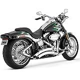 Vance & Hines Exhaust Big Radius 2-Into-2 for Harley Rocker