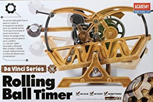 Da Vinci Rolling Ball Timer - Da Vinci Machines Series Kit by Academy #18174