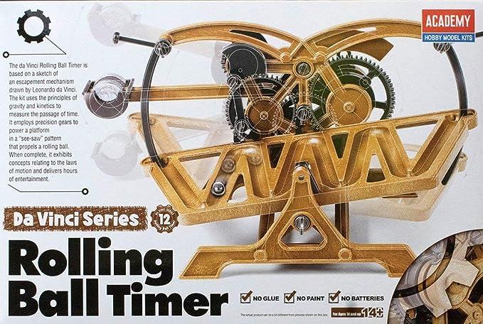 Amazon.com  Da Vinci Rolling Ball Timer - Da Vinci Machines Series Kit by  Academy  18174  Toys   Games 05975c878b4