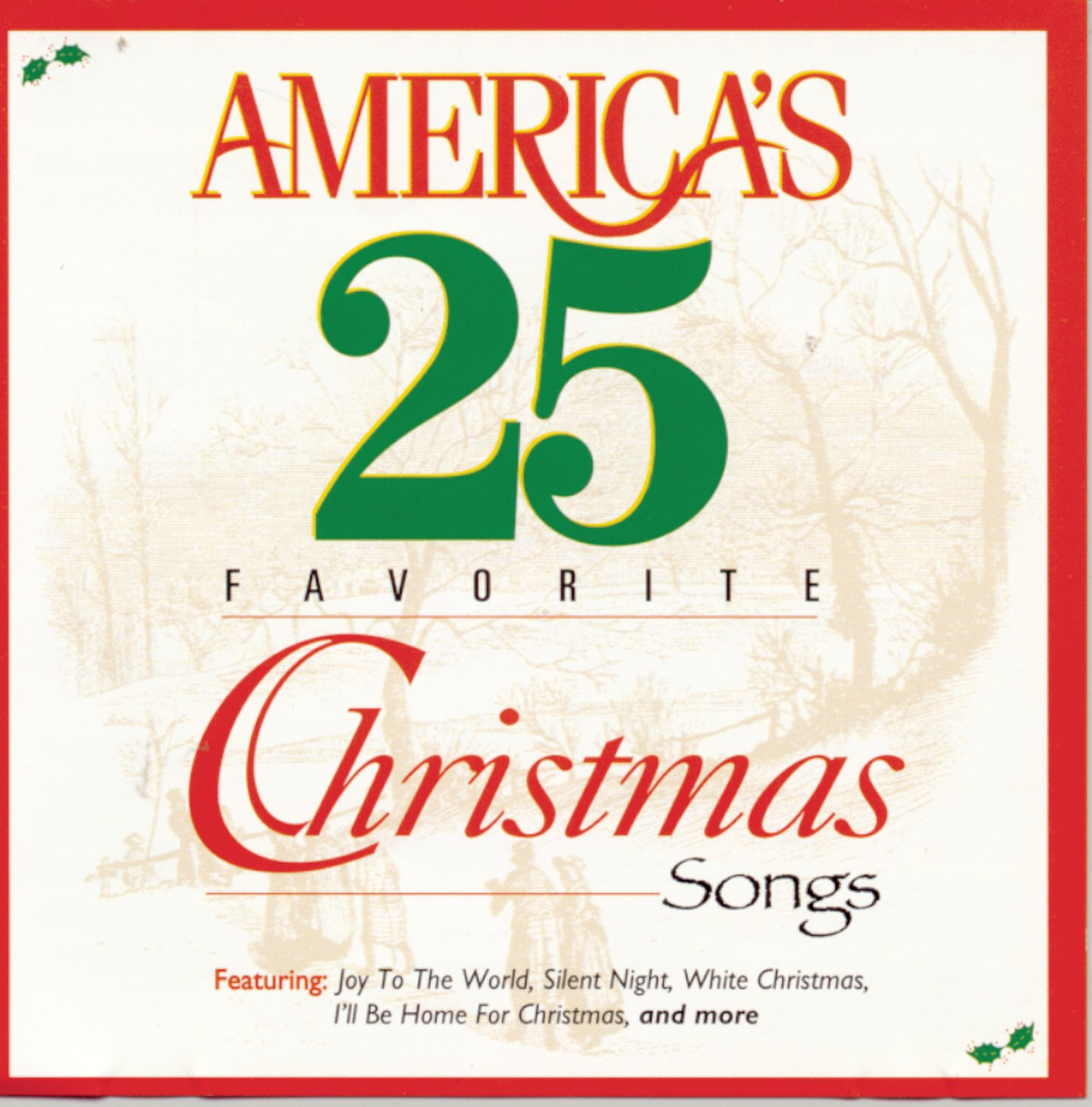 Various - America\'s 25 Favorite Christmas Songs - Amazon.com Music