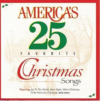 americas 25 favorite christmas songs - Favorite Christmas Songs