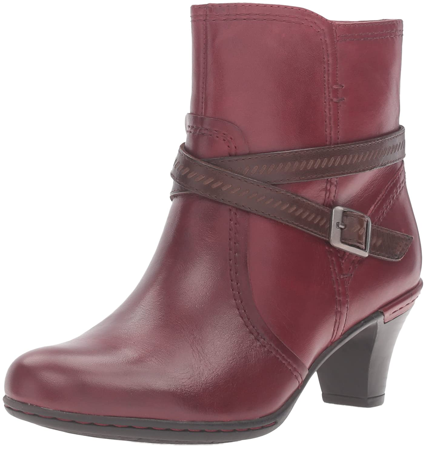 Rockport Women's Cobb Hill Missy Boot B01AK64WBG 11 W US|Wine