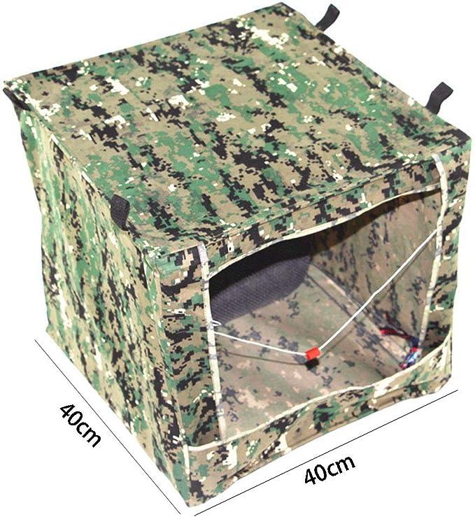 GEGEQ®Caja de municiones Plegable Caja de municiones de Camuflaje Caja de Objetivo Caja de municiones Caja de municiones Reciclar municiones 40x40x40cm para la Caza Disparo Práctica: Amazon.es: Deportes y aire libre