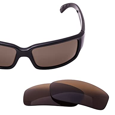 bea192501763 LenzFlip Replacement Lenses Compatible with Lenses for Costa Del Mar  CABALLITO Sunglasses -Brown Polarized Lenses