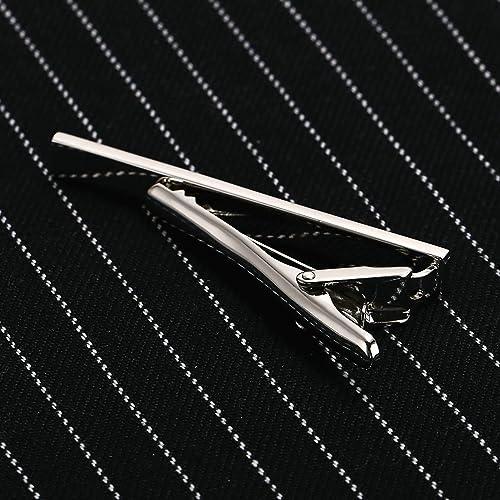 Epinki Lazo Clip de Corbata Bar Clip Acero Inoxidable Rectángulo ...
